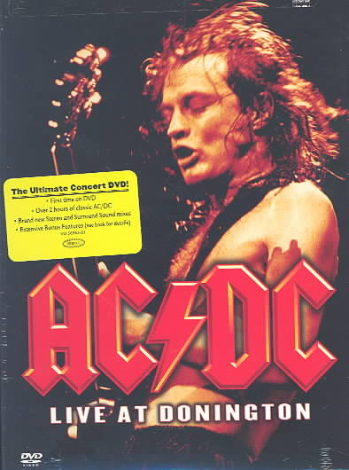 AC/DC - LIVE AT DONINGTON BY AC/DC (DVD)